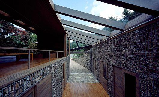 Maison dans la vallée au Japon 8