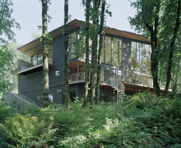 Etats unis la r sidence kitchel par boora architects - Maison moderne toronto par studio junction ...