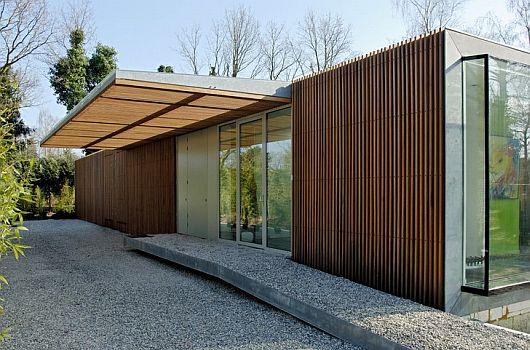 Pays bas la villa berkel par paul de ruiter moderne - Villa nefkens wageningen aux pays bas ...