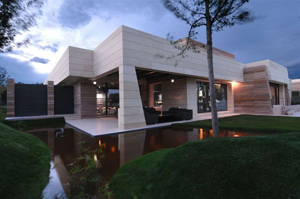Espagne une maison ultra moderne par a cero architects for Hall entree maison design