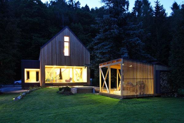 Maison moderne en bois11