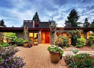 15 id es pour transformer des palettes en meuble design - Magnifique maison du milieu du xxe siecle renovee ...
