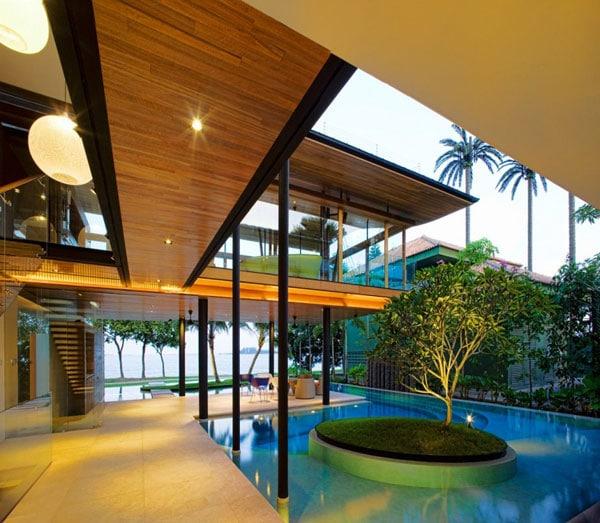 La résidence Fish House10