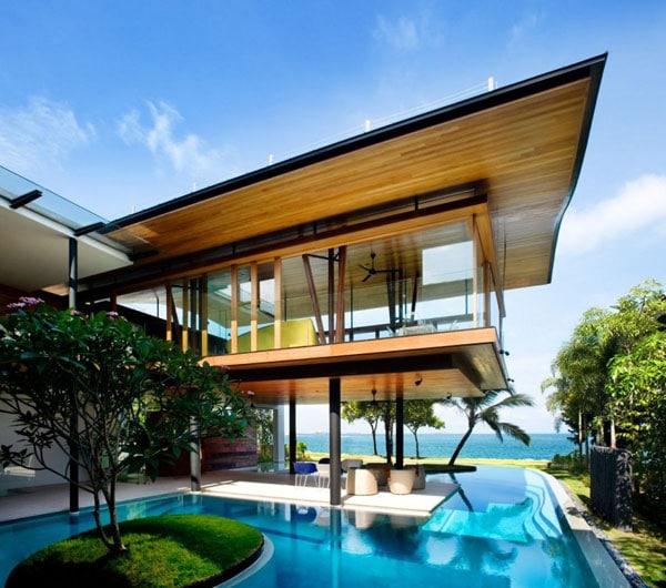 La résidence Fish House1