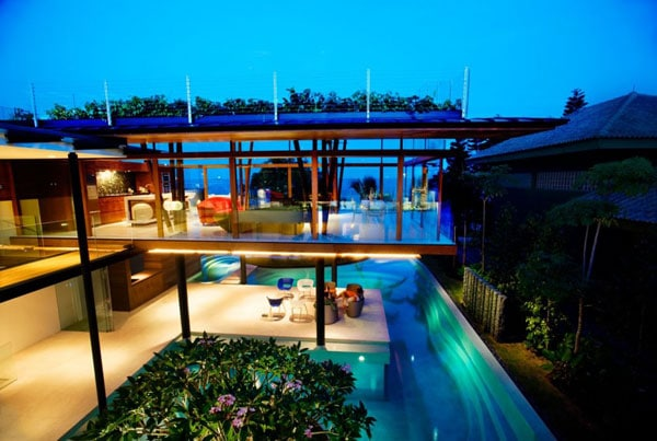 La résidence Fish House2