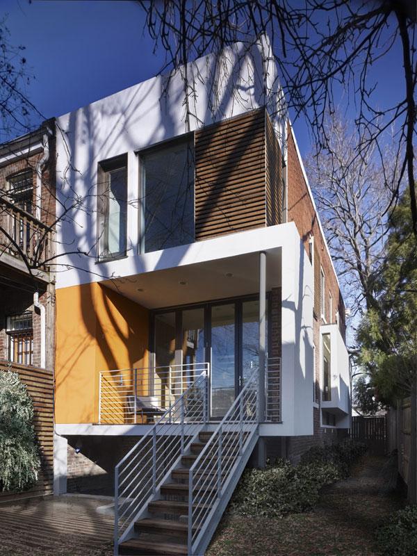 15 id es de chambre orange moderne house 1001 photos - La maison rincon bates aux etats unis ...