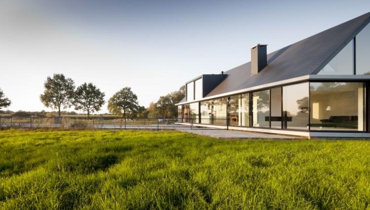Pays bas la villa geldrop par hofman dujardin for Dujardin grange