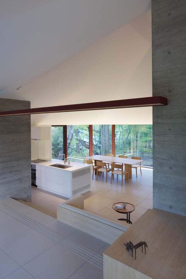 Japon la villa k contemporaine dans les collines de nagano - La fascinante maison de verre h house aux pays bas ...