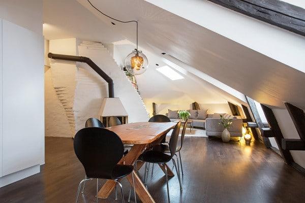 Appartement mansardé en Suède 5
