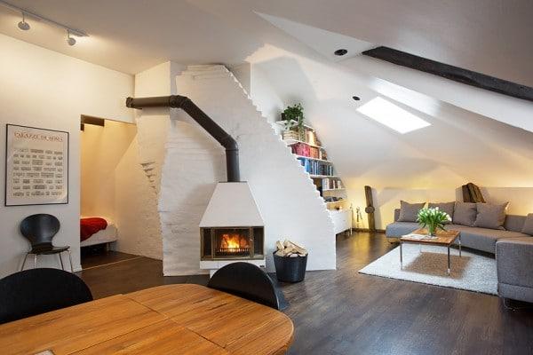 Appartement mansardé en Suède 6