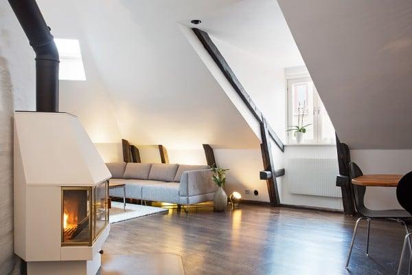 Appartement mansardé en Suède 9