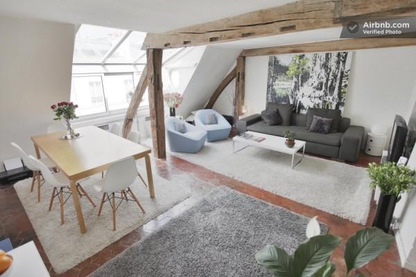 Airbnb une s lection raffin e de beaux appartements parisiens for Interni parigini