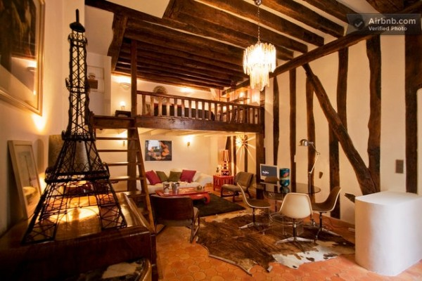 AirBnB une sélection raffinée de beaux appartements parisiens