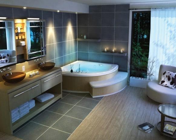Comment choisir la baignoire parfaite pour sa salle de bain - Comment blanchir sa baignoire ...