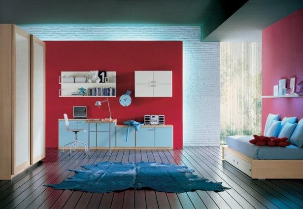 chambre dado colore de la collection de corazzin group 4 - Belle Chambre Moderne
