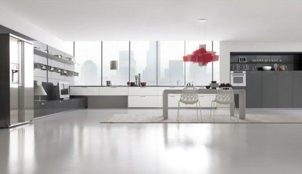 Décorations minimalistes de cuisines 19
