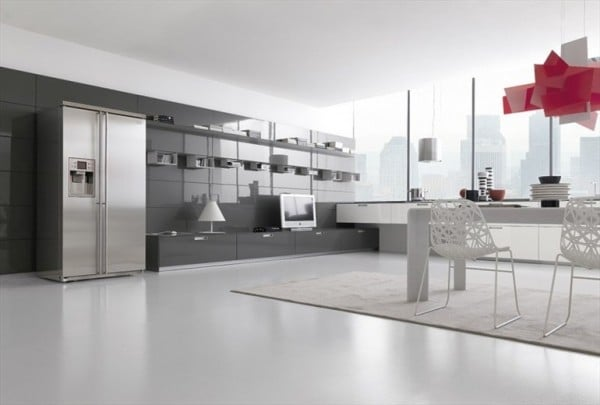 Une s lection de cuisines minimalistes de chez comprex - Cuisines modernes francaises chez perene ...