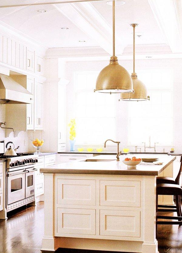 Eclairage pour cuisine moderne plan cuisine moderne for Suspension moderne pour cuisine