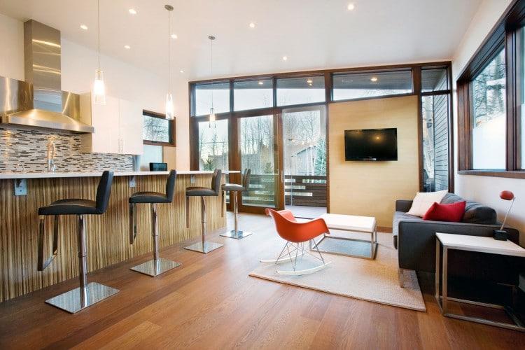 La maison wrap aspen par le studio b moderne house - La maison ah au bresil par le studio guilherme torres ...