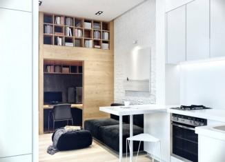 15 id es pour transformer des palettes en meuble design - Petit appartement dote dun confortable espace de rangement ...