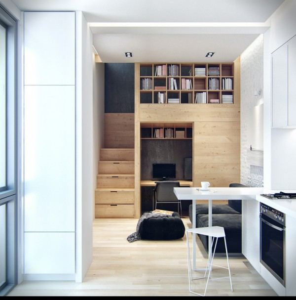 Ukraine Un Petit Appartement Bourr D 39 Astuces De Rangements