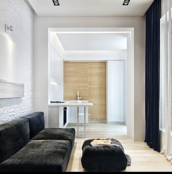 Petit appartement avec espaces de rangements 8