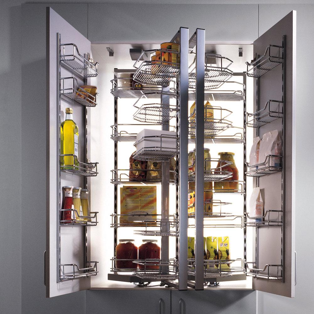 Toutes les id es pour un garde manger bien rang - Construire une armoire de rangement ...