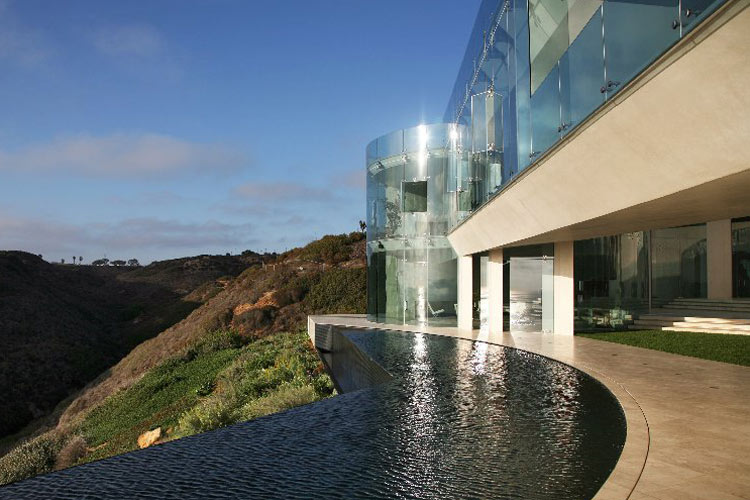 "La résidence ""Rasoir"" en Californie 10"