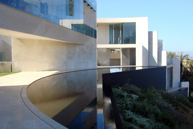 "La résidence ""Rasoir"" en Californie 13"
