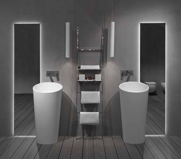 vasque totem salle de bain