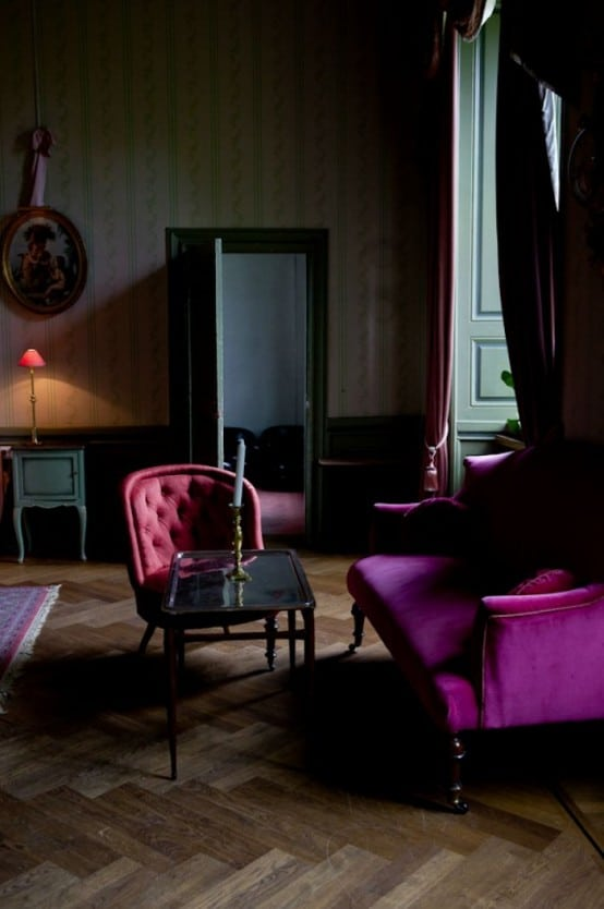 Décoration salon gothique 12