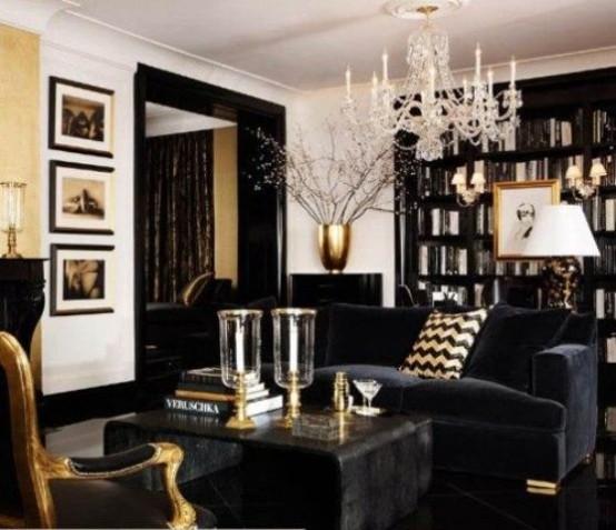 18 décorations de salons gothiques