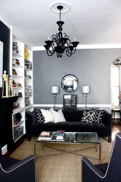 Décoration salon gothique 5