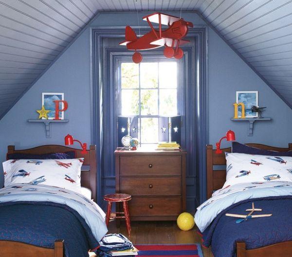 Chambre pour 2 enfants: 15 idées sympas et ludiques