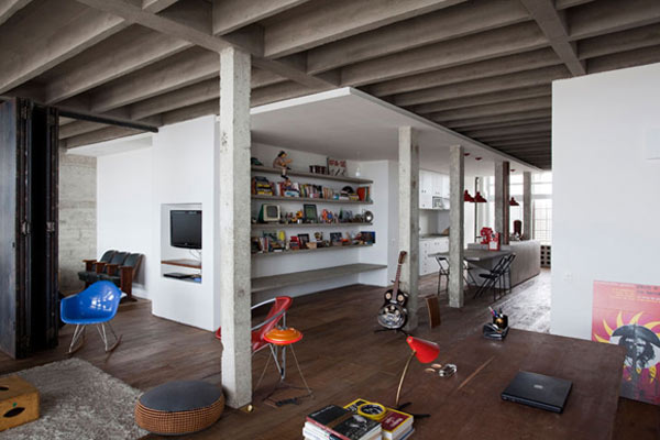 L'appartement Copan à Sao Paulo 1