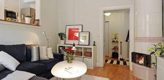 Appartements aux détails vintages 7