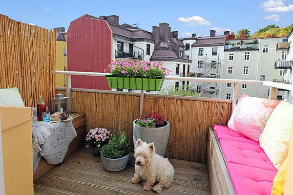 Appartement lumineux et plein de couleurs 16