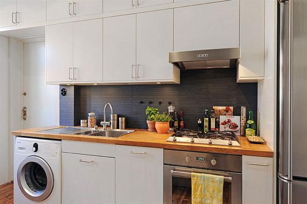 Un charmant appartement lumineux avec des touches de - Couleur appartement moderne ...