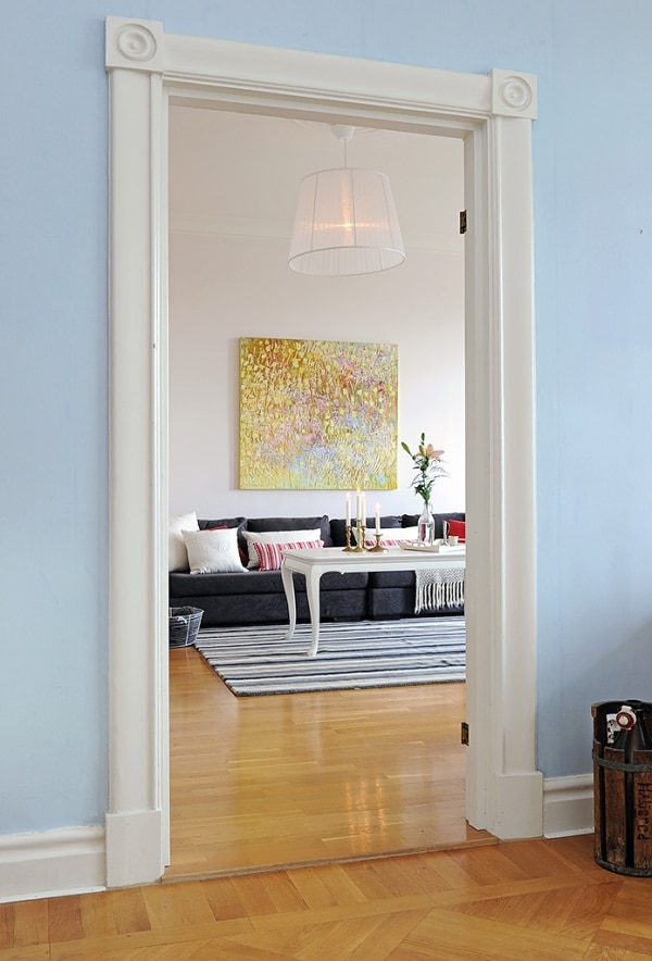 Appartement spacieux et lumineux en Suède 8