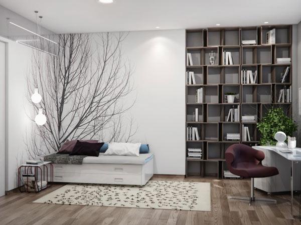 Appartement ukrainien ingénieusement compartimenté 10