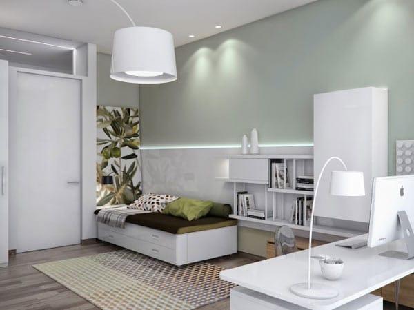 Appartement ukrainien ingénieusement compartimenté 14
