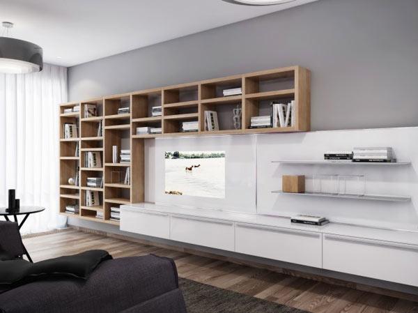 Appartement ukrainien ingénieusement compartimenté 5