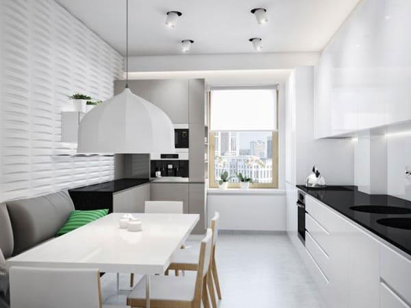 Appartement ukrainien ingénieusement compartimenté 8