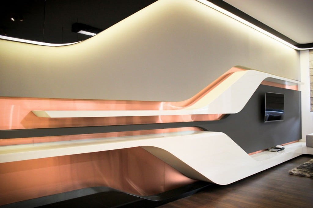 Appartement futuriste en Bulgarie 2