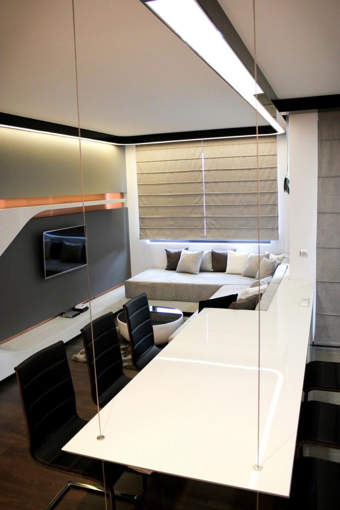 Appartement futuriste en Bulgarie 9