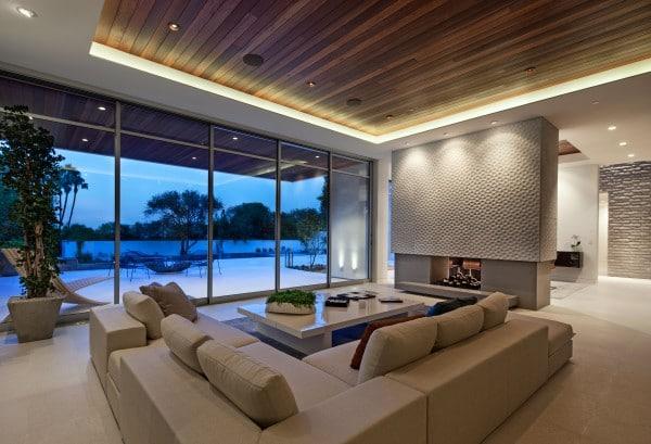 Etats unis une villa contemporaine somptueuse sur sunset strip par hagy belz - Villa de luxe etats unis ...
