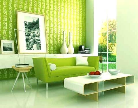23 idées d'intérieur vert 1