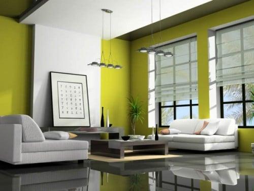 23 idées d'intérieur vert 10