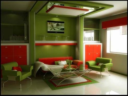 23 idées d'intérieur vert 11