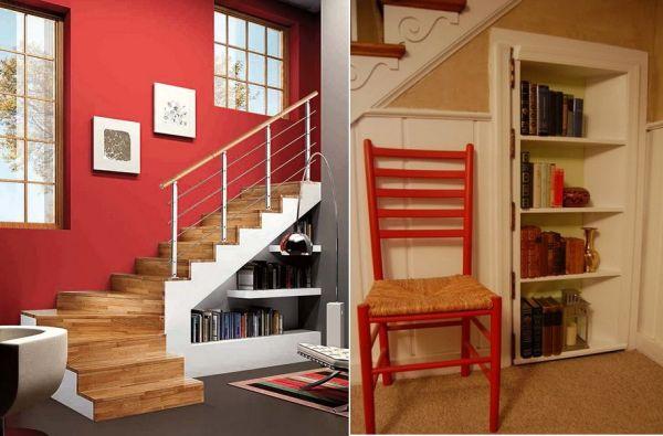 Comment aménager l'espace sous l'escalier ?